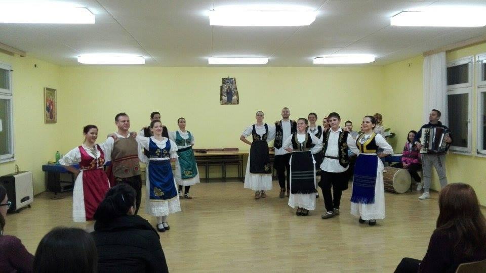 KUD _Nera_ poseta studenata iz ceske52016KUD Nera Novi Sad folklor