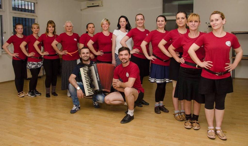 rekreativci veterani Kud NERA Novi Sad